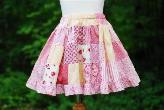 patchwork quilt skirtSewing Quilt, Pink Patchwork, Ruffles Skirts, Quilt Skirts Handmade, Girls Patchwork, Patchwork Ruffles, Kids Clothing, Toddlers Sydney, Patchwork Quilt