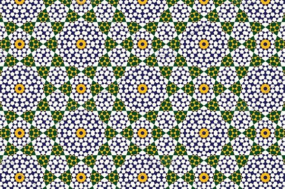 Morocco Seamless Pattern by Azat1976 on @creativemarket