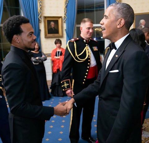 Chance...the Rapper meets President Obama