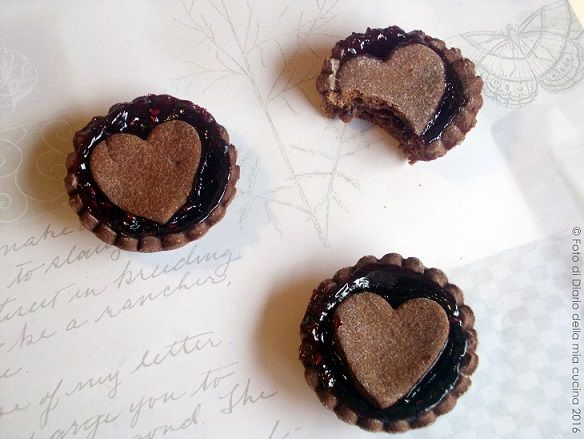 #sweet #myblog #myvalentine #food   Mini crostatine al cacao