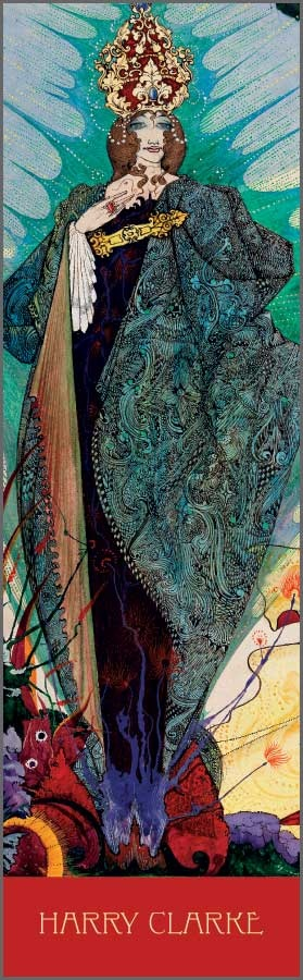 The Snow Queen, illustration for Hans Christian Andersen's Fairy Tales (1916) by Harry Clarke (Irish, 1889–1931).