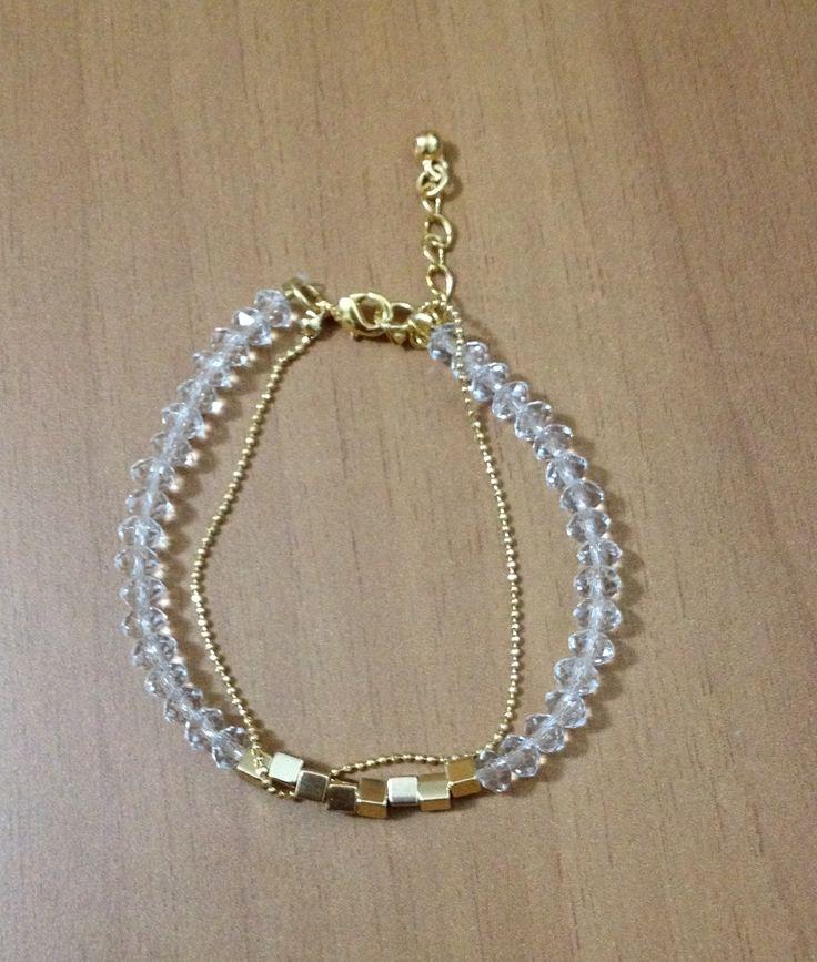 Chinese crystal bracelet