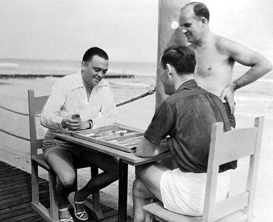 J. EDGAR HOOVER and his FBI agents were down in Miami, Florida in 1937 to set up a new department bureau. Hoover's opponent was the associate director of the FBI and his rumored gay lover Clyde Tolson.