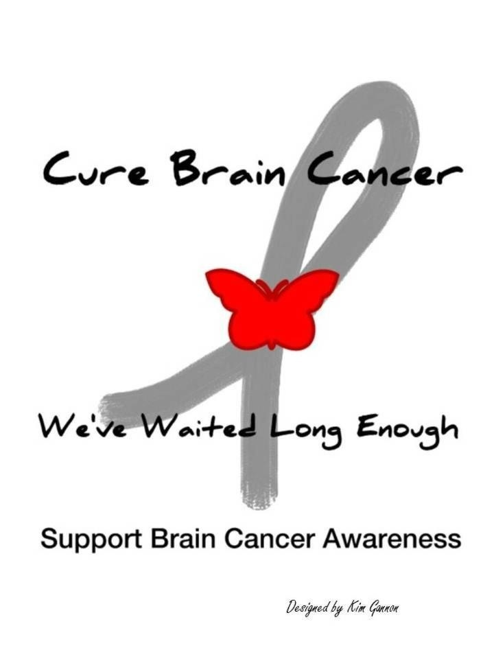 Brain cancer awareness                                                                                                                                                                                 More