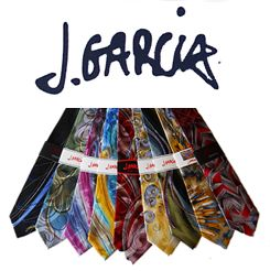 Jerry Garcia Ties, all men should own at least one.  Classy ones like me have 6 and want more