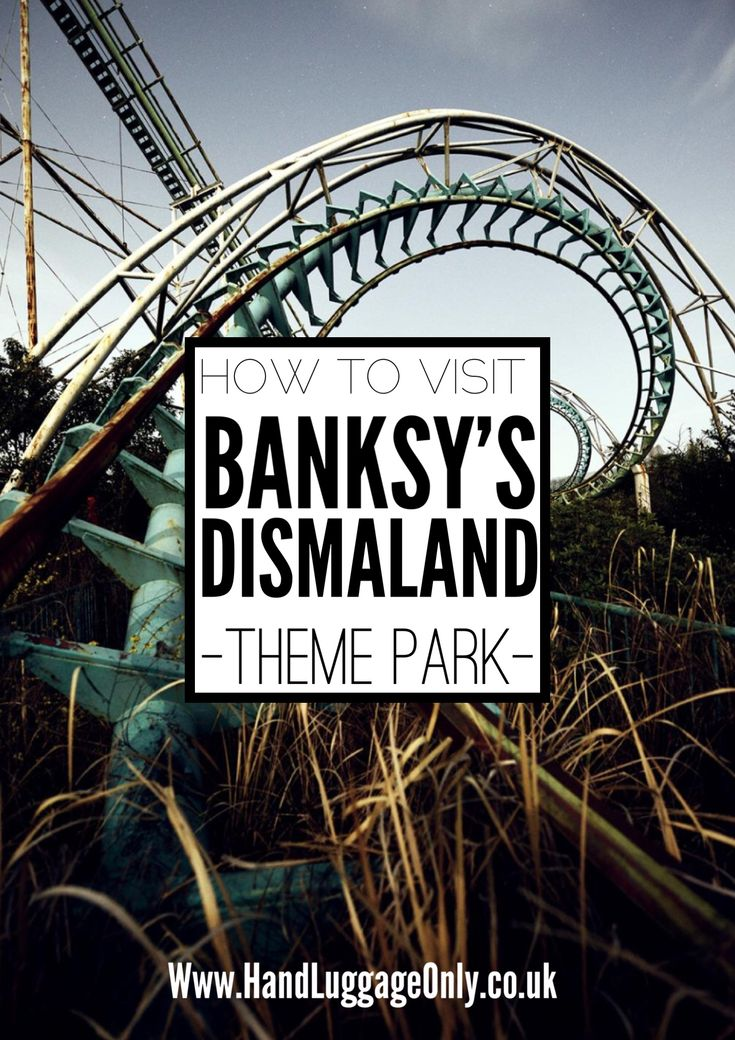 How To Visit Dismaland The New Themepark By Banksy! - Hand Luggage Only - Travel, Food & Home Blog