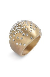 Ariella Collection 'Satin Metals' Crystal Dome Ring (Nordstrom Exclusive)$58.00: Valentine'S Day, Hmmm Valentine'S, Hmmm Valentines, Valentine Day Gifts, Valentines Day Gifts