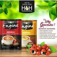 Kopi Ginseng H&H ENGINE COFFEE Energy for Life