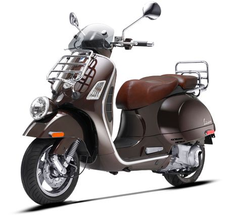 Not a bicycle... but cool!  Vespa GTV 300 ie