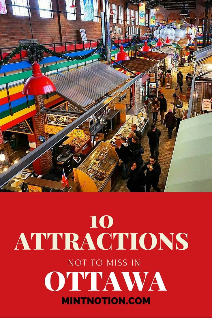 10 attractions not to miss in Ottawa, Canada. There are so many fun things to do in Ottawa. Click here to find out the best attractions to see in the city!