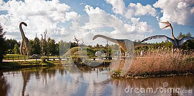 Dinosaurs Park In Leba Poland - Download From Over 42 Million High Quality Stock Photos, Images, Vectors. Sign up for FREE today. Image: 60163599