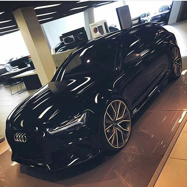 • RS6 art. • By: @ingolstaedter_maschinen Car: 2016 Audi RS6 Performance HP(stock RS6): ...