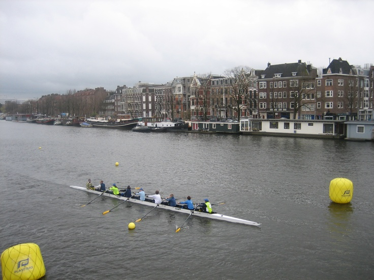 Roeiwedstrijd op de Amstel (Head of the River).