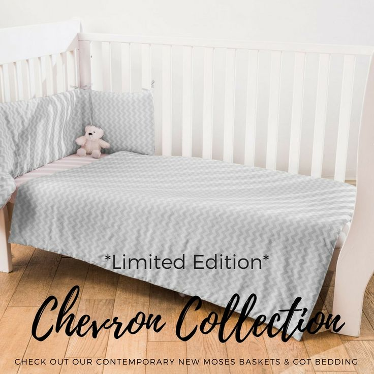 Don't miss out on a #bargain. We've just released a super stylish, #limitededition cot bedding set that's handmade with love in the UK for just £20.99! Shop while stocks last!