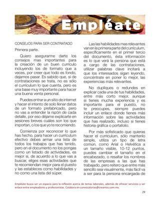 Creamos 4 Junio-Julio  Revista de participación comunitaria, escribe y te leo, colaboraciones que fomentan la lectura.