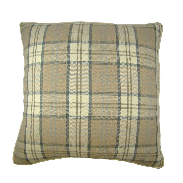 Large Isabella Natural Cushion Cover | Dunelm