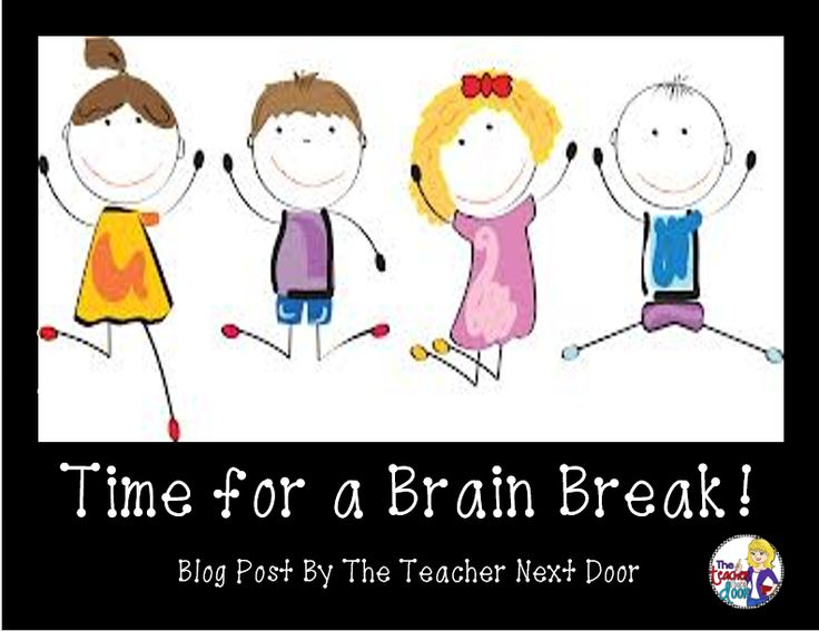 Blog post with lots of tips about brain breaks.