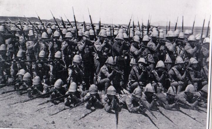 British infantry during the Second Boer War.