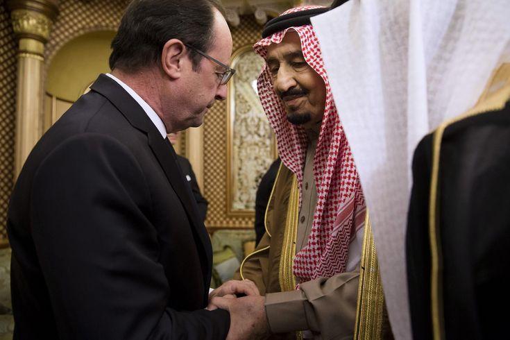 Janvier 2015. Les chefs d'Etat venus des quatre coins du monde se sont rendus en Arabie Saoudite samedi afin de présenter leurs condoléances au nouveau roi Salman, frère de feu Abdallah, décédé la veille.