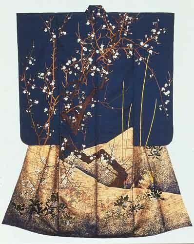 Stunning Sakura Tree Furisode