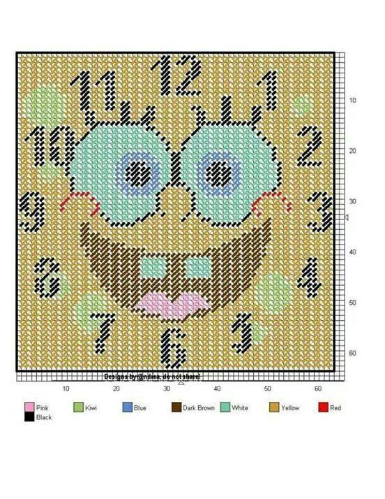 Spong Bob clock