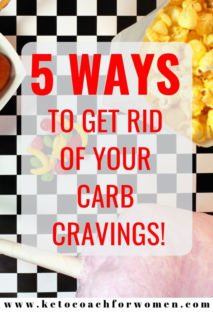 carb cravings during start of diet
