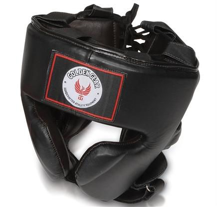 MMA Headgear by Golden Gear - https://www.martialartsupply.com/product/mma-headgear-golden-gear/