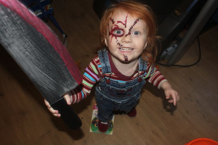 Diy kids chucky halloween costume kids stuff pinterest for Diy halloween costumes for kid boy
