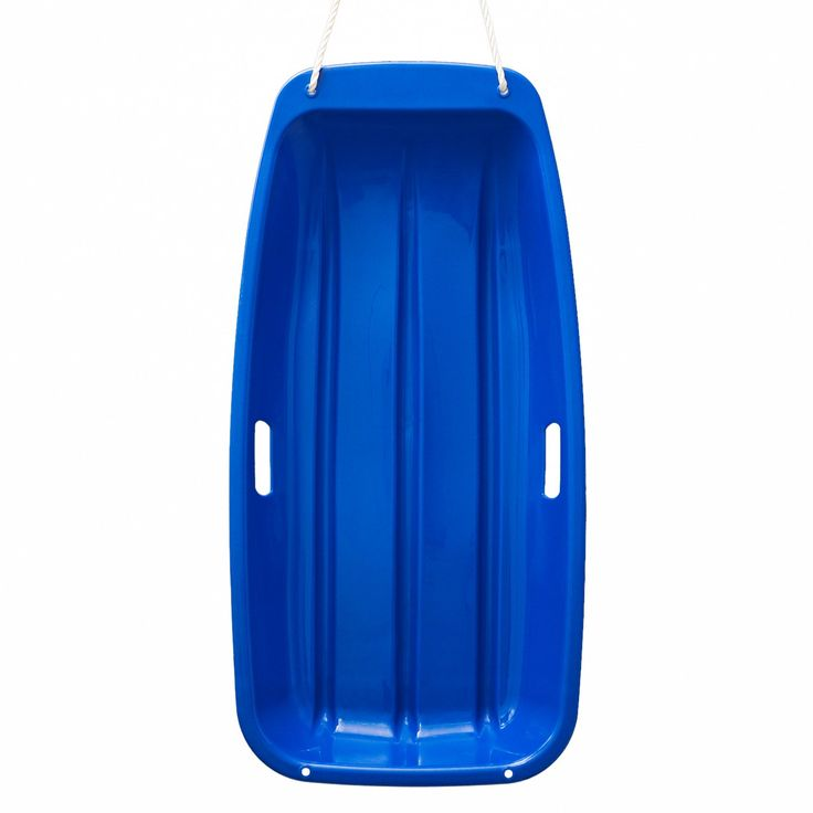 AGPtek Plastic Outdoor Toboggan Snow Sled for Child, 35-Inch, Blue. Perfect for any hill, it features 2 handles for a great grip, while the attached tow rope ensures easy pulling. Great value and loads of fun on snow and also some have used on sand dunes. This great snow sled will have you speeding down the hill, piste or dune. It is fun and easy to use.