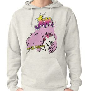 Jem and the Holograms hoodie 80's cartoon, all sizes & styles available now!
