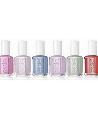 Essie's spring colors celebrate cities around the world from Paris to Tokyo to NYC