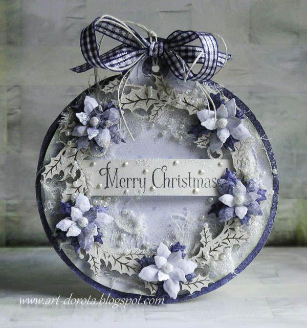 A wszystko za sprawa nowych, świątecznych kolekcji   w  Heartfelt Creations   i  Scrapiniec                    Pozdrawiam serdecznie :)   ...