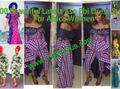 100 Beautiful Latest Aso-Ebi Dress Styles for African Women