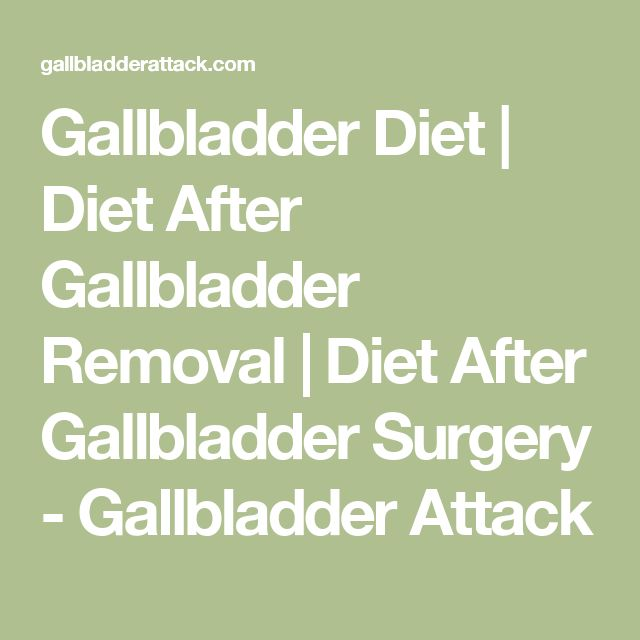 Best Foods To Eat With Gallbladder Problems