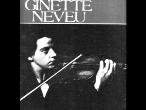 Ginette Neveu - De Falla 'La vida breve'