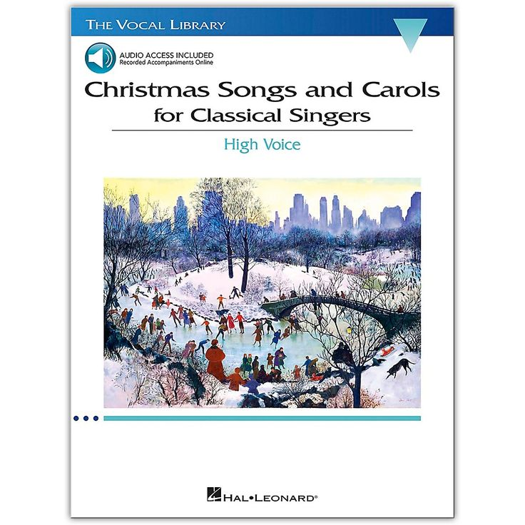 Hal Leonard Christmas Songs and Carols for Classical Singers - High Voice Book/Audio Online