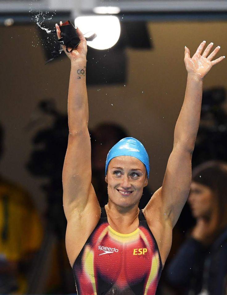 Mireia Belmonte - Las mejores fotos de los Juegos Olímpicos Río 2016…