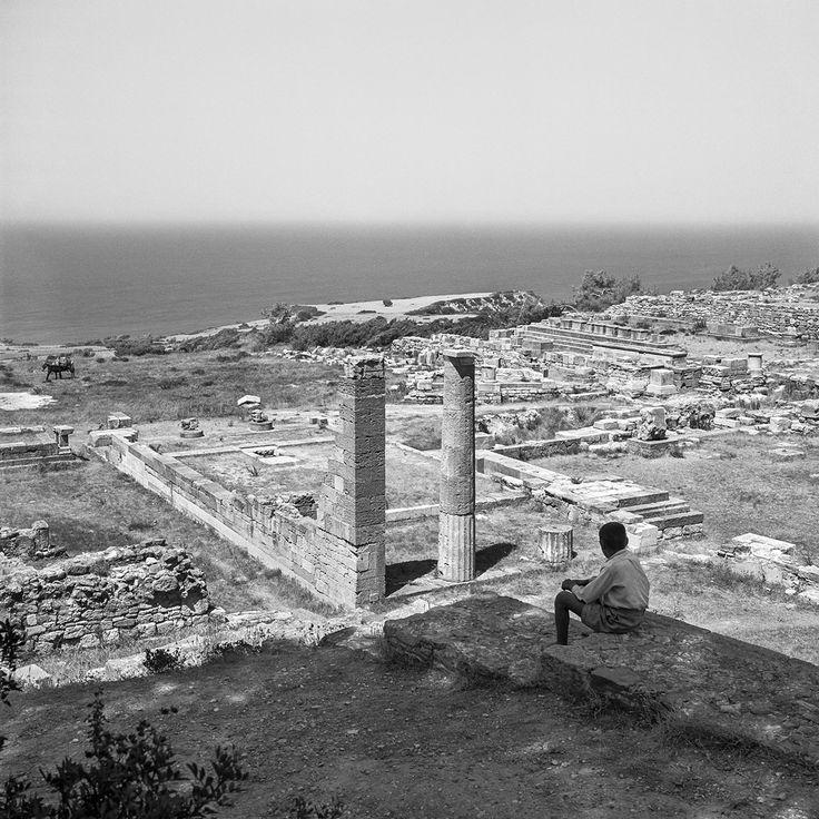 Kamiros, Rhodes 1954. Photo © Robert McCabe. Robert McCabe Greece: Images of an Enchanted Land, 1954-1965