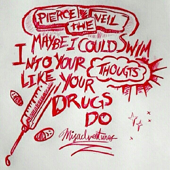 Pierce The Veil, The Divine Zero lyrics Misadventures (∩_∩)