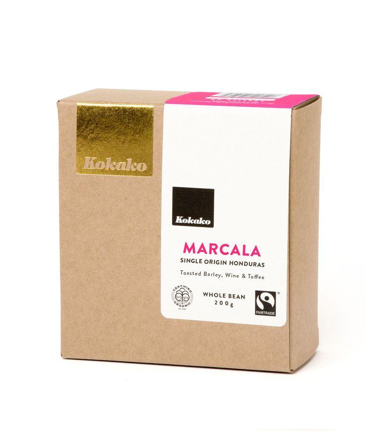 Marcala Single Origin specialty coffee from Honduras.