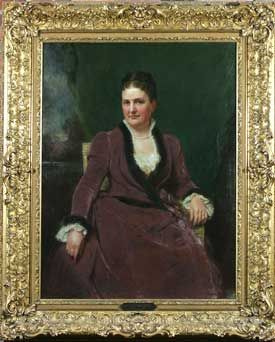 Maria Louisa Kissam Vanderbilt, 1821-1896, wife of William Henry Vanderbilt