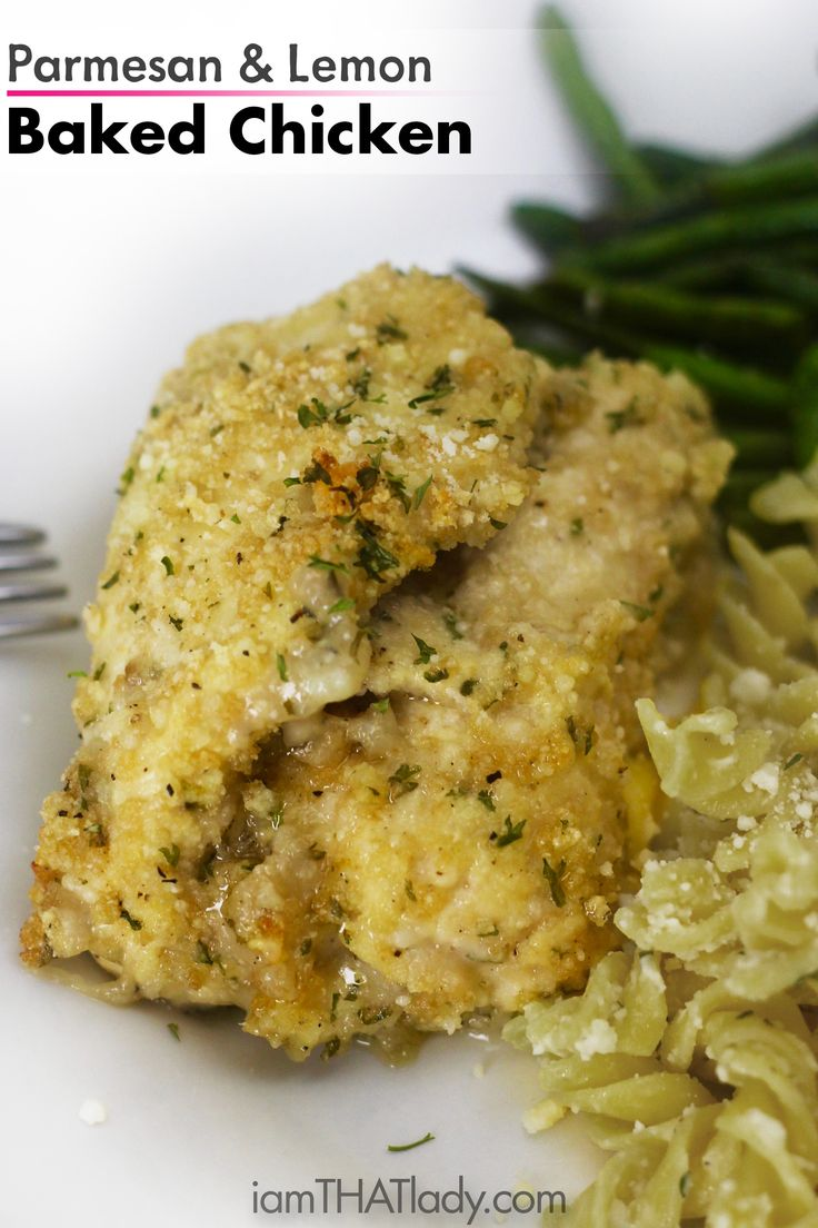 Check Out Parmesan And Lemon Baked Chicken It 39 S So Easy