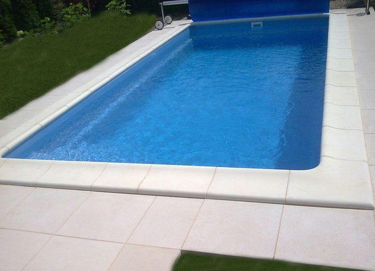GFK Schwimmbecken, Fertig Schwimmbecken, Fertig Pool, Swimmingpool, Polyester Pool : GFK Schwimmbecken Fertig Pool California 6 - 6 x 3 x 1,45m Set - Pool Profi|2016