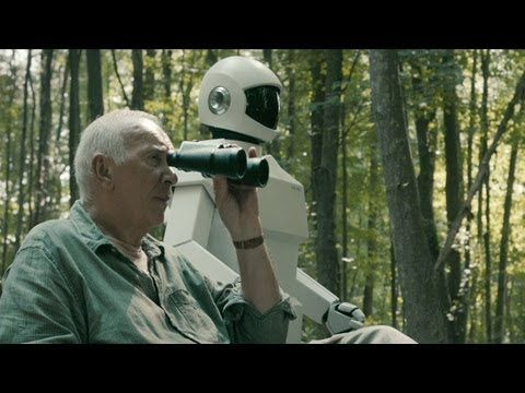 'Robot & Frank' Trailer HD.    Robot & Frank is a 2012 American film directed by Jake Schreier and written by Christopher Ford. Set in the near future, it focuses on Frank, an aging jewel thief played by Frank Langella, whose son buys him a domestic robot.    http://filmswewatch.tumblr.com/