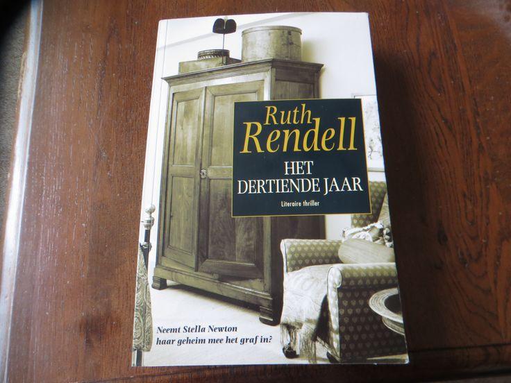 7/53 Het Dertiende Jaar van Ruth Rendell (schrijfster van psychologische misdaadromans). Vandaag (2 mei 2015) dit boek uitgelezen en het toeval ??? wil dat de schrijfster vandaag is overleden. Een heel boeiend boek en ik ga zeker meer van haar lezen.