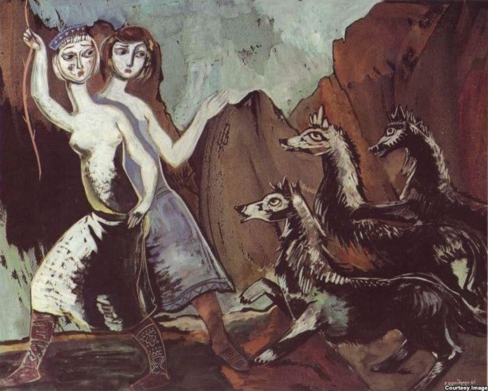 Белые девушки и черные волки 1965 (700x560, 381Kb)