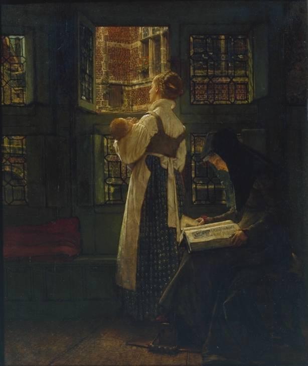 Sunday Morning-Sir Lawrence Alma-Tadema
