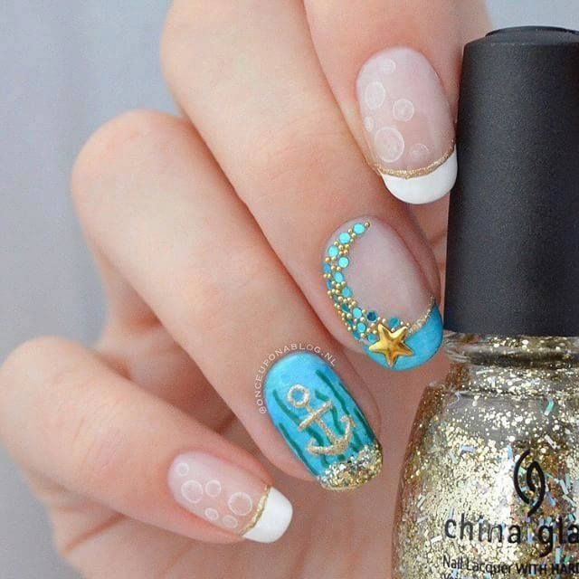 162 best nail art 2017 images on pinterest nail designs make up nail art designs ideas 2016 styles 7 beach themed prinsesfo Image collections