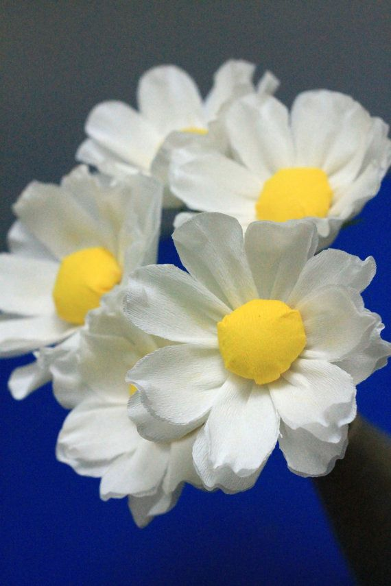 Large Paper Daisy by adornflowers on Etsy, $18.00
