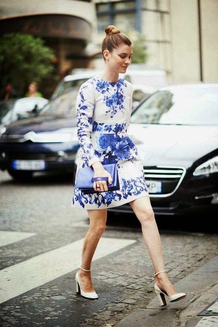china blue fashion inspiration